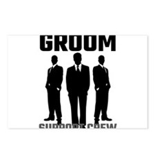 Groom Support Crew Postcards (Package of 8)