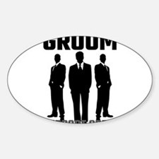 Groom Support Crew Decal