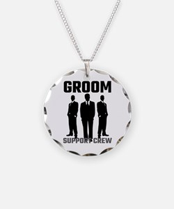 Groom Support Crew Necklace