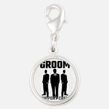 Groom Support Crew Charms
