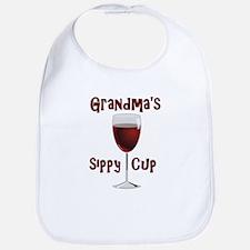 Grandma's Sippy Cup Bib