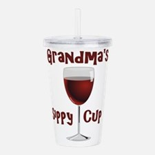 Grandma's Sippy Cup Acrylic Double-wall Tumbler