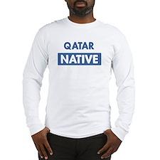 QATAR native Long Sleeve T-Shirt