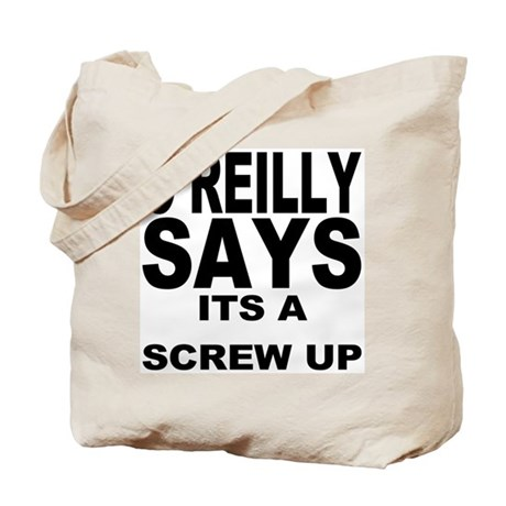 ITS A SCREW UP Tote Bag by whatiftees