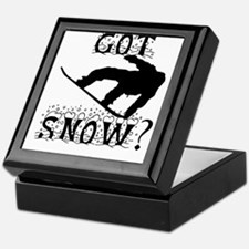 Got Snow? Keepsake Box