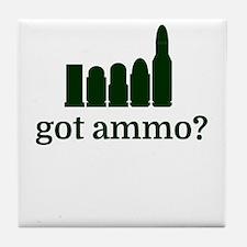 got ammo? Tile Coaster