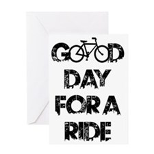 Cool Bicycle Greeting Card