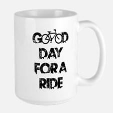 Good Day For A Ride Mugs