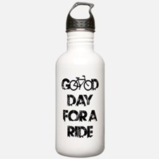 Good Day For A Ride Sports Water Bottle