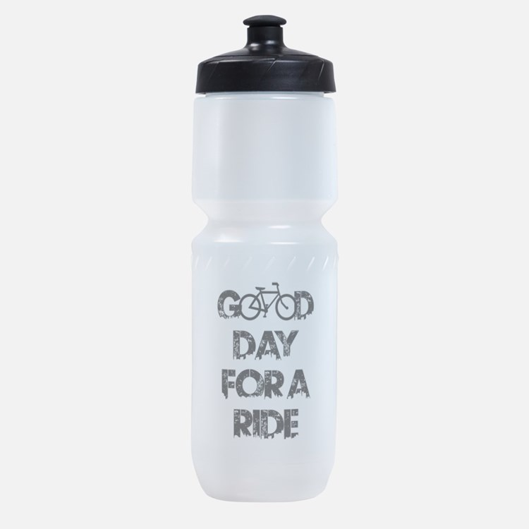 Good Day For A Ride Sports Bottle