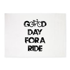 Good Day For A Ride 5'x7'Area Rug