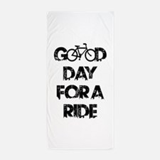 Good Day For A Ride Beach Towel