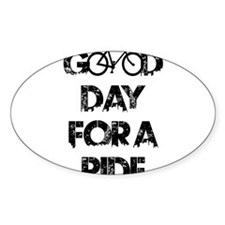 Good Day For A Ride Decal