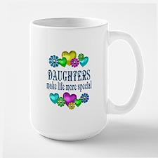 Daughters More Special Large Mug