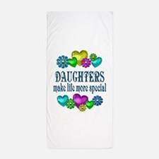 Daughters More Special Beach Towel