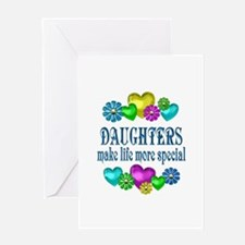 Daughters More Special Greeting Card