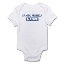 SANTA MONICA native Infant Bodysuit