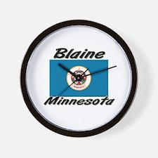 Blaine Minnesota Wall Clock