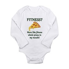 FITNESS? More like fitness whole pizza i Body Suit