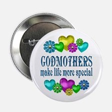 "Godmothers More Special 2.25"" Button"