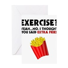 Exercise? Yeah...No. I Thought You Greeting Cards
