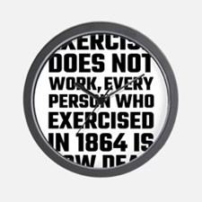 Exercise Does Not Work Wall Clock