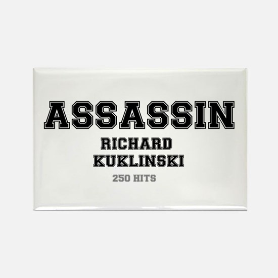ASSASSIN - RICHARD KUKLINSKI, USA Magnets