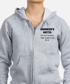 Engineer's Motto: If It Isn't B Zip Hoodie