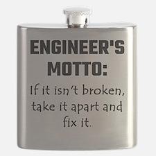 Engineer's Motto: If It Isn't Broken Take It Flask