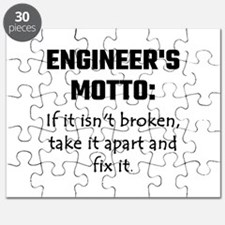 Engineer's Motto: If It Isn't Broken Take I Puzzle