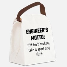 Engineer's Motto: If It Isn't Bro Canvas Lunch Bag
