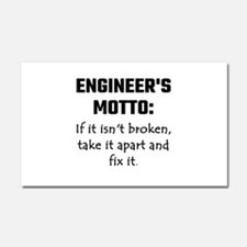 Engineer's Motto: If It Isn't B Car Magnet 20 x 12