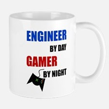 Engineer By Day Gamer By Night Mugs