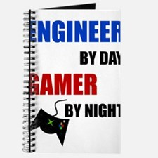 Engineer By Day Gamer By Night Journal