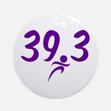 Purple 39.3 Round Ornament