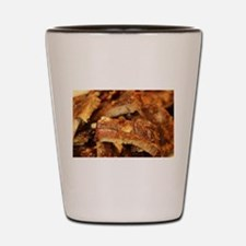 barbequed ribs close Shot Glass