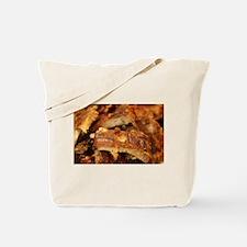 barbequed ribs close Tote Bag