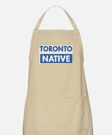 TORONTO native BBQ Apron