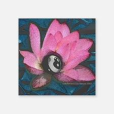 """Pretty In Pink 8 Ball Square Sticker 3"""" x 3"""""""