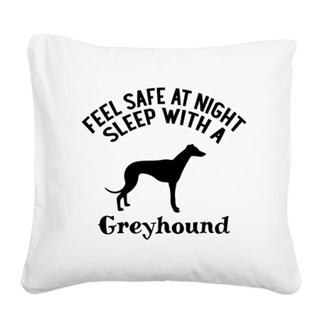 Feel Safe At Night Sleep With Square Canvas Pillow
