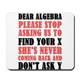 Algebra Classic Mousepad