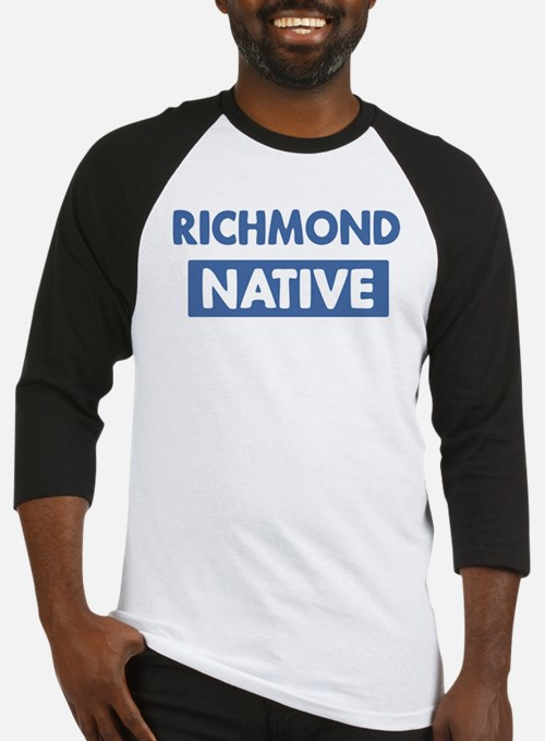 RICHMOND native Baseball Jersey
