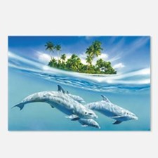 Tropical Island Fantasy Postcards (Package of 8)