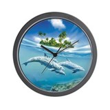 Under the sea Wall Clocks