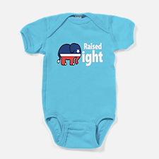 Raised Right Baby Bodysuit