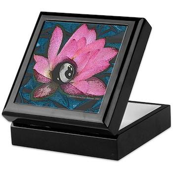 Pretty In Pink 8 Ball Keepsake Billiards Jewelry Box