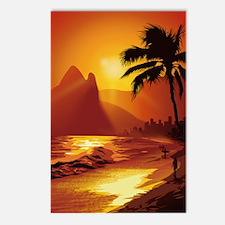 Copacabana Beach Postcards (Package of 8)