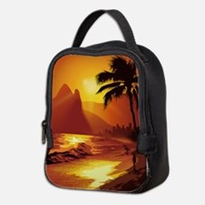 Copacabana Beach Neoprene Lunch Bag