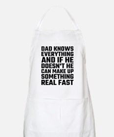 Dad Knows Everything Apron