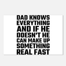 Dad Knows Everything Postcards (Package of 8)